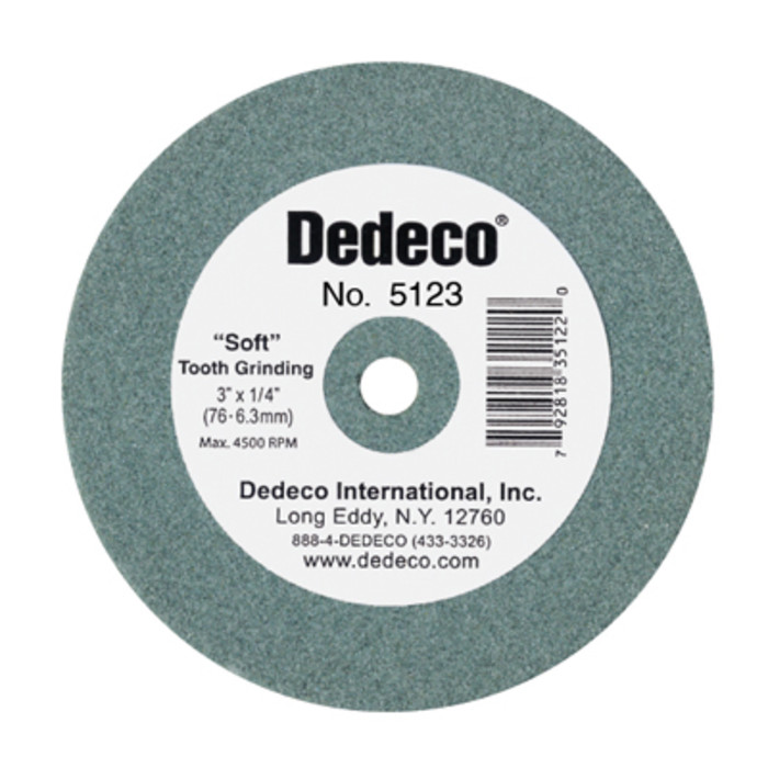 Dedeco Green Stone Lathe Wheel 3 Quot X 3 8 Quot 1 Unit
